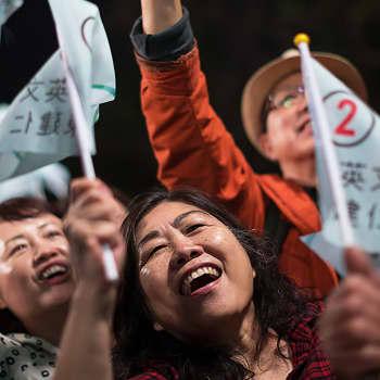 Vaalitulos kiristää Taiwanin ja Kiinan suhteita