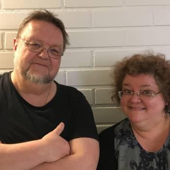 Risto Nordellin vieraana viulutaiteilija Kreeta-Maria Kentala