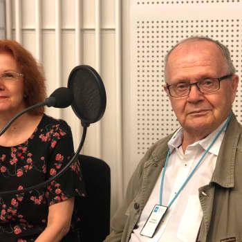 Latinankielisen viikkokatsauksen toimittajat Virpi Seppälä-Pekkanen ja Tuomo Pekkanen