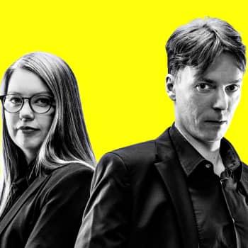 Eurovaalit 2019 - vaalitentissä Li Andersson (vas.)