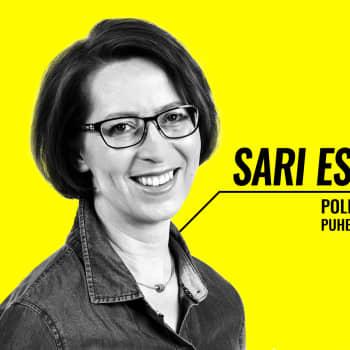 Eduskuntavaalit 2019 - vaalitentissä Sari Essayah (kd.)