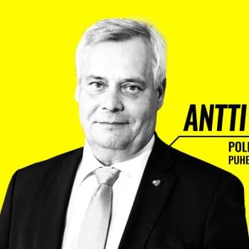 Eduskuntavaalit 2019 - vaalitentissä Antti Rinne (sd.)