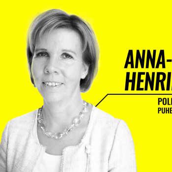 Eduskuntavaalit 2019 - vaalitentissä Anna-Maja Henriksson (r.)