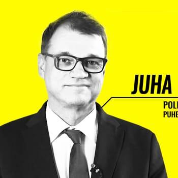 Eduskuntavaalit 2019 - vaalitentissä Juha Sipilä (kesk.)