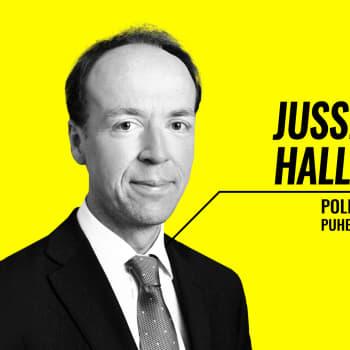 Eduskuntavaalit 2019 - vaalitentissä Jussi Halla-aho (ps.)