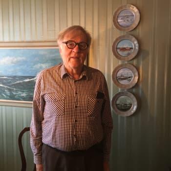 Holger Sjögren valitsi itselleen maailman parhaan ammatin silakan troolikalastajana