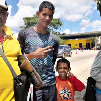 Ennen Venezuelaan muutettiin, nyt sieltä pyritään pois