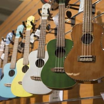 Luuttu, kitara, ukulele ja mitä niitä onkaan?