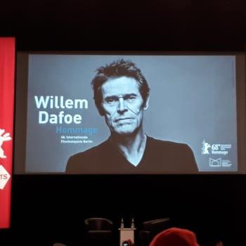En dag med Willem Dafoe