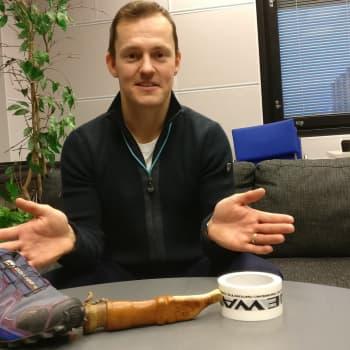 """Radio Suomesta poimittuja: Sami Jauhojärvi reissasi kilpailuissa täysi """"muumi mamman käsilaukku"""" mukana"""
