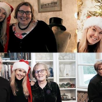 Puheen Joulu: Tuija Pehkonen Loviisan joulukodeissa
