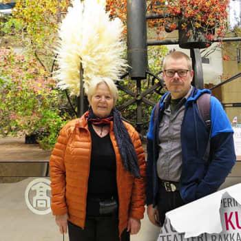 Ikebana antaa taiteen tekemiselle rajattomat mahdollisuudet