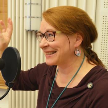 Radio Suomen toimittaja Paula Jokimies