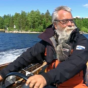 """Koko kesä Saimaalla - """"Untuvamakuupussista en luovu"""""""
