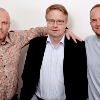 Lindgren & Sihvonen: Vieraana Veikkausliigan pj. Matti Apunen