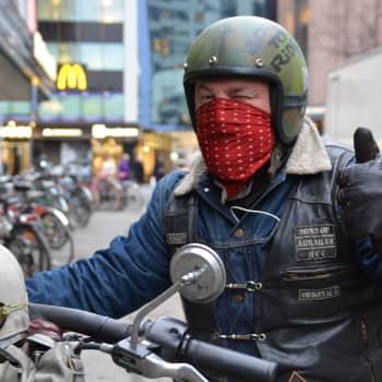 Radio Suomi Tampere: Talvimoottoripyöräily pitää ajotuntuman kunnossa