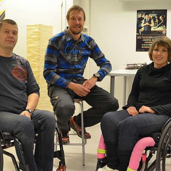 """Mikko """"Peltsi"""" Peltola: Pyörätuolirugby - väkivaltaa vai urheilua?"""