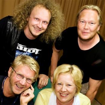 Asiantuntijoina Heidi Kinnunen, Juha Laaksonen, Ari Saura ja Henry Väre.
