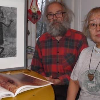 Minna Pyykön maailma: Kalliomaalausten kertomaa