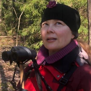 Heidi matkii lintuja