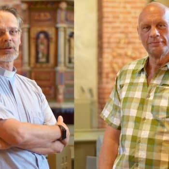 Ny bok firar 550-åriga Karis kyrka - Johan Lönnberg och Pentti Raunio om Sankta Katarina kyrka