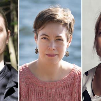 Vettä, filosofiaa ja naisen elämää -  Silja Kejosen, Matti Kangaskosken ja  Auli Särkiön runoteokset esittelyssä