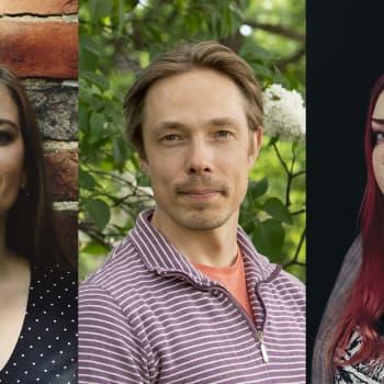 Huumoria, nostalgiaa ja surua  - Rosanna Fellmanin, Jouni Teittisen ja Anna Elina Isoaron runoteokset esittelyssä