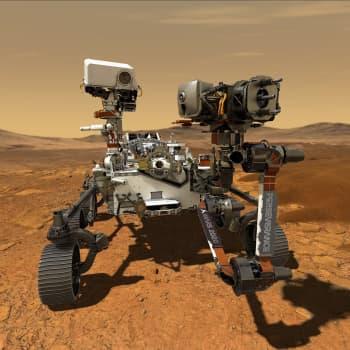Kuusipyöräinen robotti lähtee tonkimaan Marsin Jezero-kraatteria – kaksi muutakin alusta suuntaa kohti Punaista planeettaa