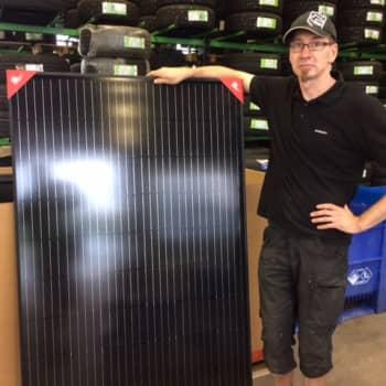 Aurinkopaneeleilla kova kysyntä, nyt hankitaa järeitä järjestelmiä