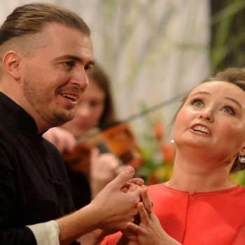 Julia Lezhneva ja Dmitri Sinkovski Sionin festivaalilla Sveitsissä