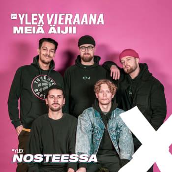 """Meiä äijii YleX Nosteessa -sarjasta vieraana: """"Sit kun ollaan kesäkumibiisi tehty, voidaan lopettaa"""""""