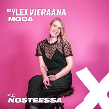 """Mooa YleX Nosteessa -sarjasta vieraana: """"Olen jännittäjä ja stressaaja, mutta olen tottunut siihen"""""""