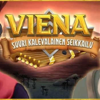 Kajaanin ammattikorkeakoulun uudessa pelissä yhdistetään Kuhmon maisemia ja Kalevalan tarustoa