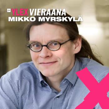 """Professori Mikko Myrskylä vieraana: """"Arviot maapallon kantokyvystä vaihtelevat 5 miljardista 500 miljardiin ihmiseen"""""""