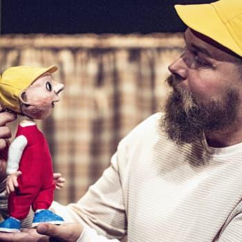"""Den nyskrivna barnpjäsen """"När farfar blev ett spöke"""" har premiär på ÅST"""