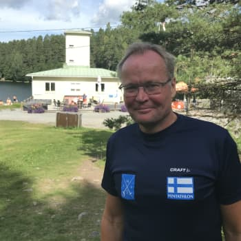 Nykyaikainen 5-ottelu herätettiin henkiin Hämeenlinnassa - Peräsimessä kokenut Jouko Pakarinen