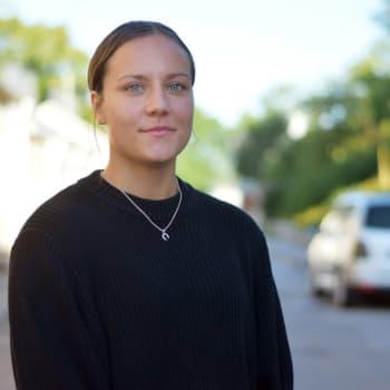 Hangöbon Nicolina Fredriksson vill utvecklas som handbollsspelare i Göteborg