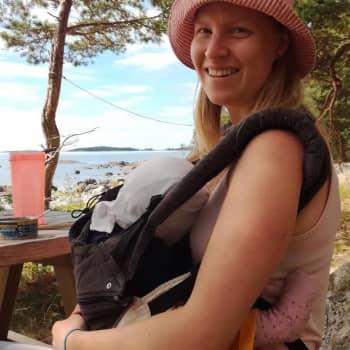 Janika Haapalaiselle Kaunissaari on tärkeä paikka