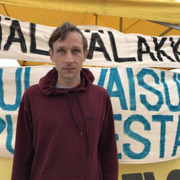 De hungerstrejkar för klimatet