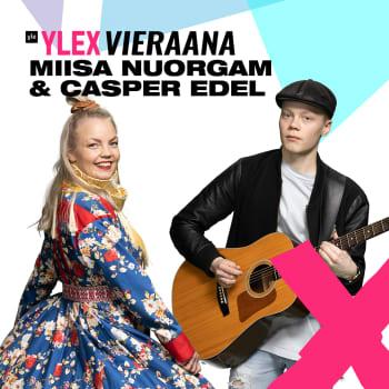 """Miisa Nuorgam ja Casper Edel vieraana: """"Toista maailmaa oli sekä Inuvikin kylä että pandemian runtelemat lentokentät"""""""