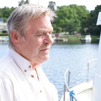Tage Gustafsson har varit yrkesfiskare sedan 1977: Det är ett sätt att leva