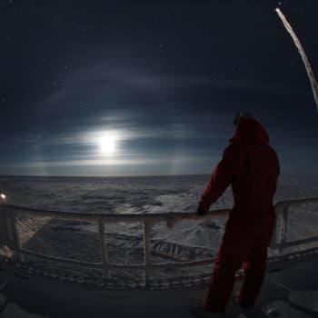 Antarktiksen kävijät kertovat tieteen tekemisestä äärirajoilla, upeista maisemista ja huimista lumimyrskyistä