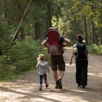 Suomalainen etsii turvaa metsästä kriisiaikoina