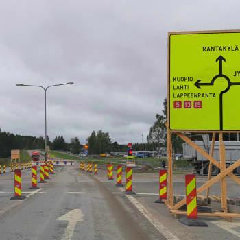 Liikennejärjestelyt Jyväskyläntien ja Otavankadun risteyksessä vaativat ennakointia