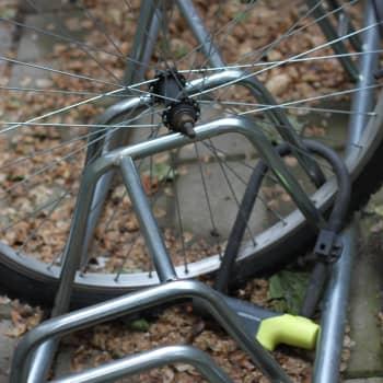 Sommar är högsäsong för cykelstölder