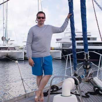 Kuusi viikkoa purjelaivassa kohti kotia - perämies Antti Keränen odottaa leppoisia öitä keskellä Atlanttia