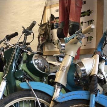 Liesjärven Mopomuseossa moni kohtaa nuoruutensa menopelin