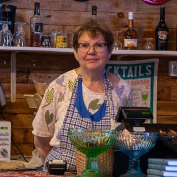 Från pensionär till kaféföretagare på Jussarö