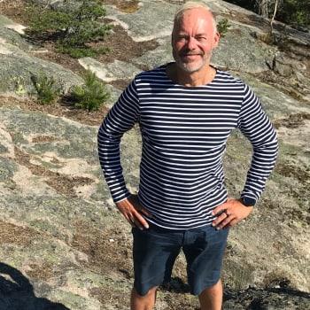 Mökillä: Pauli Aalto-Setälän mökki on rauhantyyssija