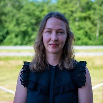 Häng inte läpp i Läpp: företagare Louise Kjellberg, ordförande för centrumföreningen i Karis